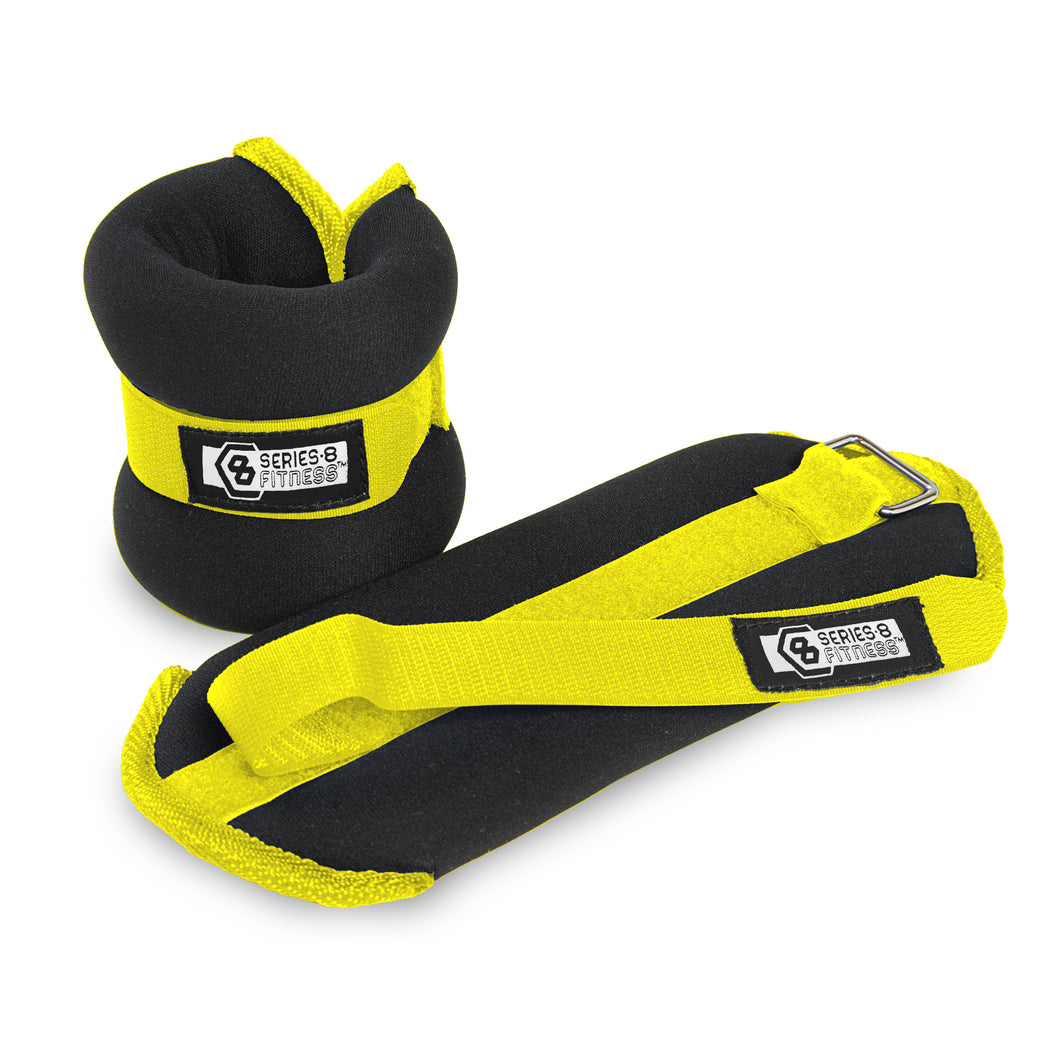 Pure Fitness 1 lb Adjustable Wrist Weights, Ankle Weights - Pure Fun