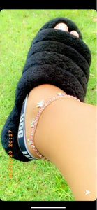 """Butterfly bliss"" anklet"