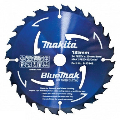 MAKITA BLUEMAK TCT SAW BLADE 160mm x 20mm x 40T  B-15104