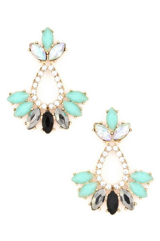 Audrina Peacock Earrings