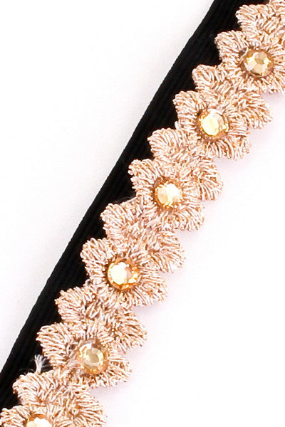 Gold Dust Shimmer Headband