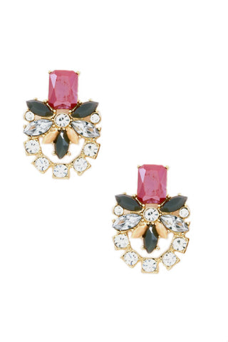 Erudite Floral Statement Earrings