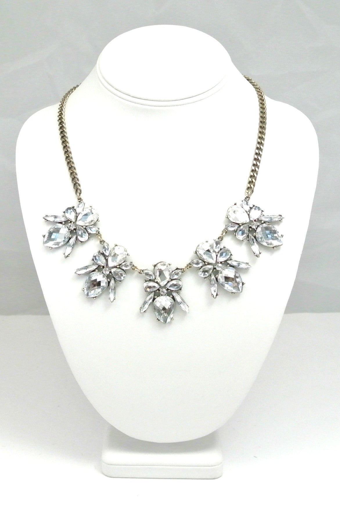 Vintage Artisan Blossom Necklace