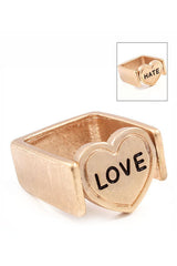 Love Me Hate Me Ring