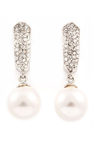 Classic Pearl Joy Drop Earrings