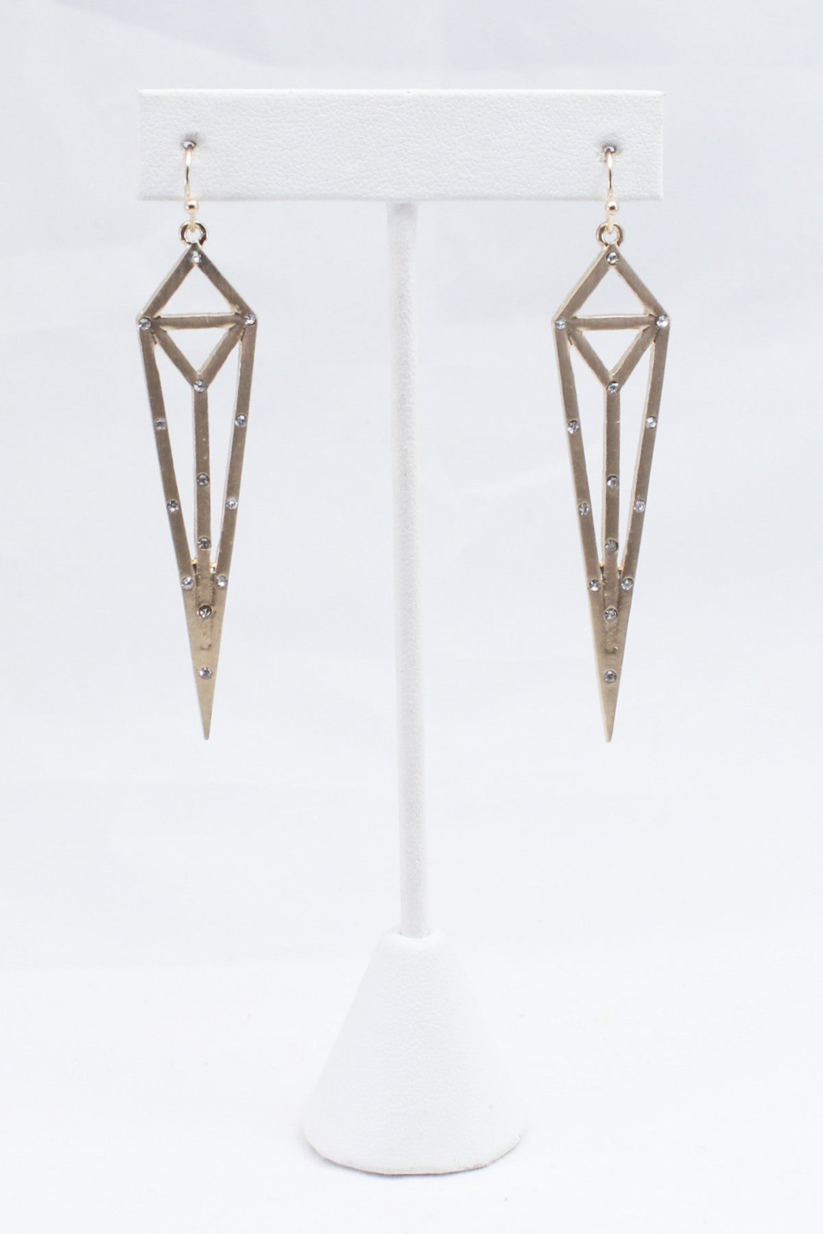 Pyramid Point Earrings