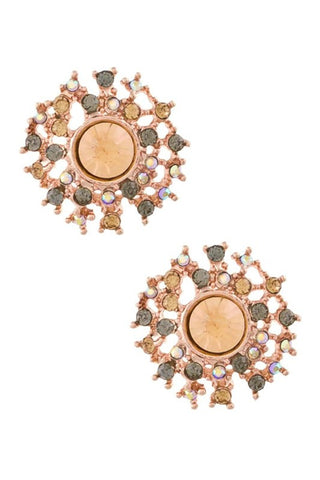 Coral Reef Shimmer Studs