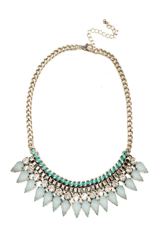 Minted Mynx Spike Necklace
