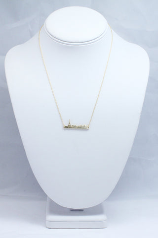 Paris Silhouette Necklace