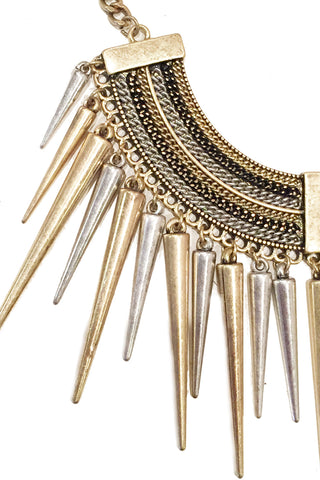 Jessica Spike Necklace