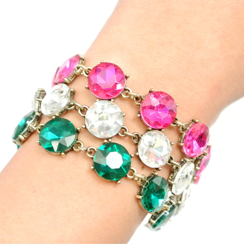 Candied Gem Bracelet
