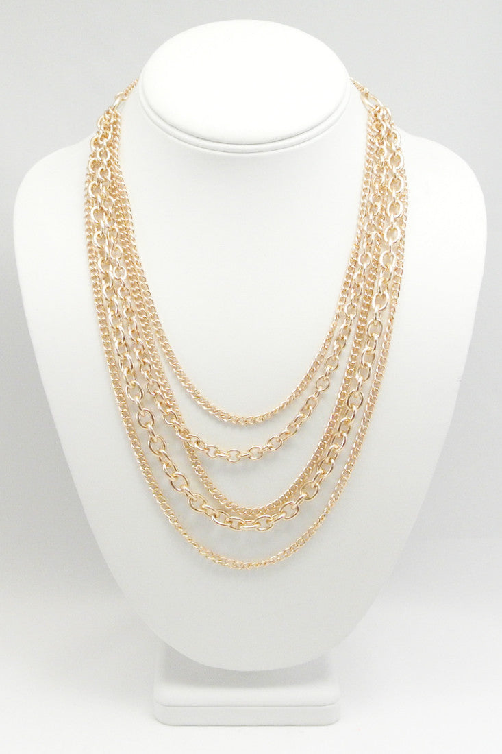 Chains All Night Necklace