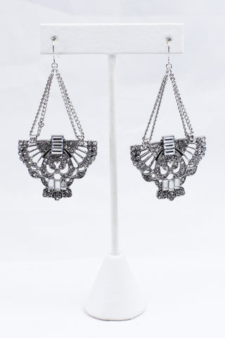 Silver Phoenix Earrings