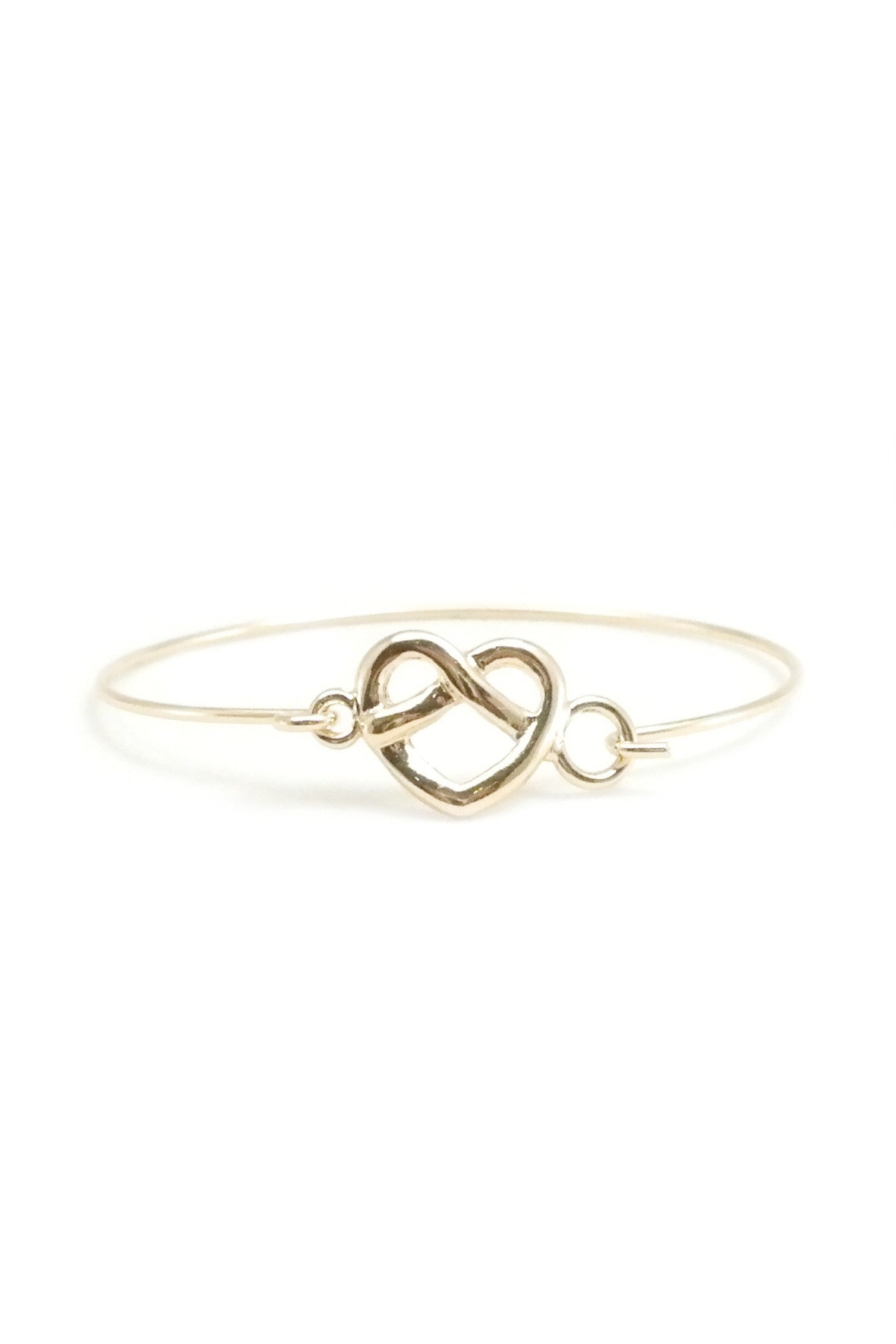 Infinite Heart Bangle
