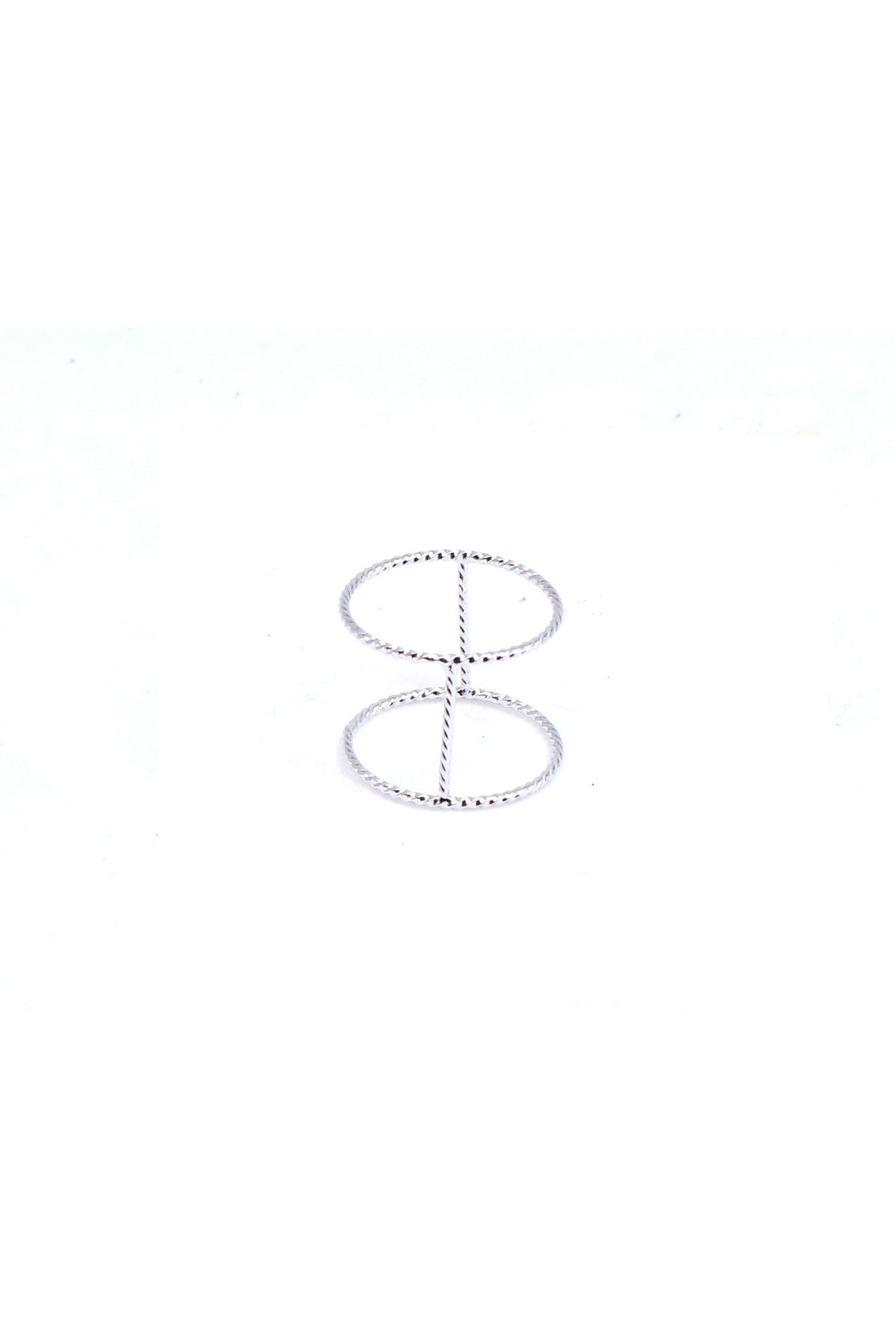 Twisted Bar Ring