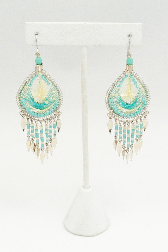 Indio Glow Beaded Earrings