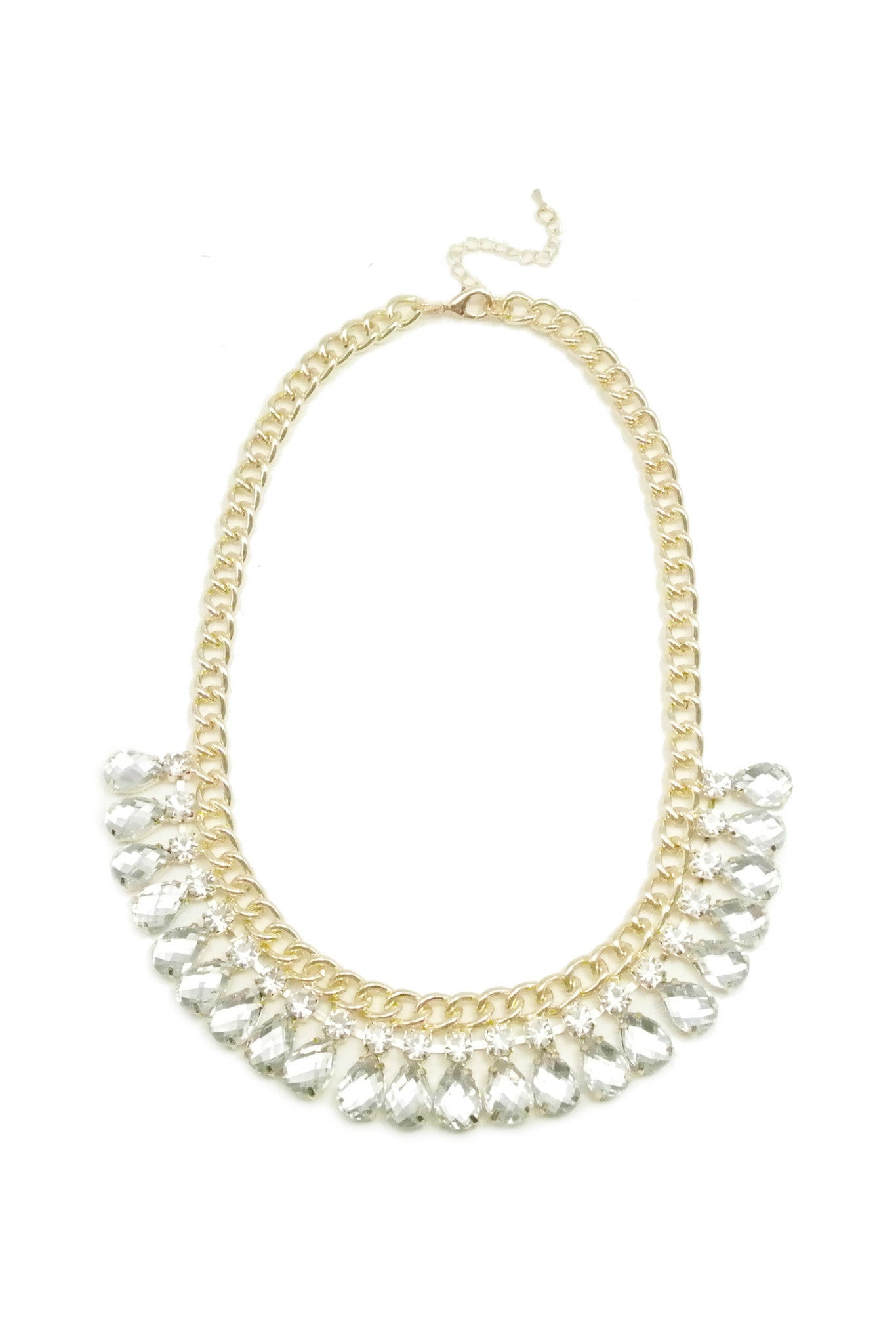 Lucite Radiance Necklace