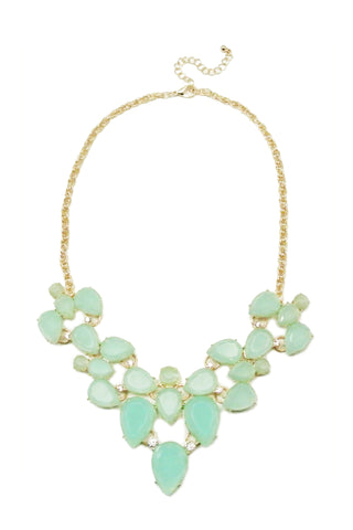 Sweet Mint Necklace Set