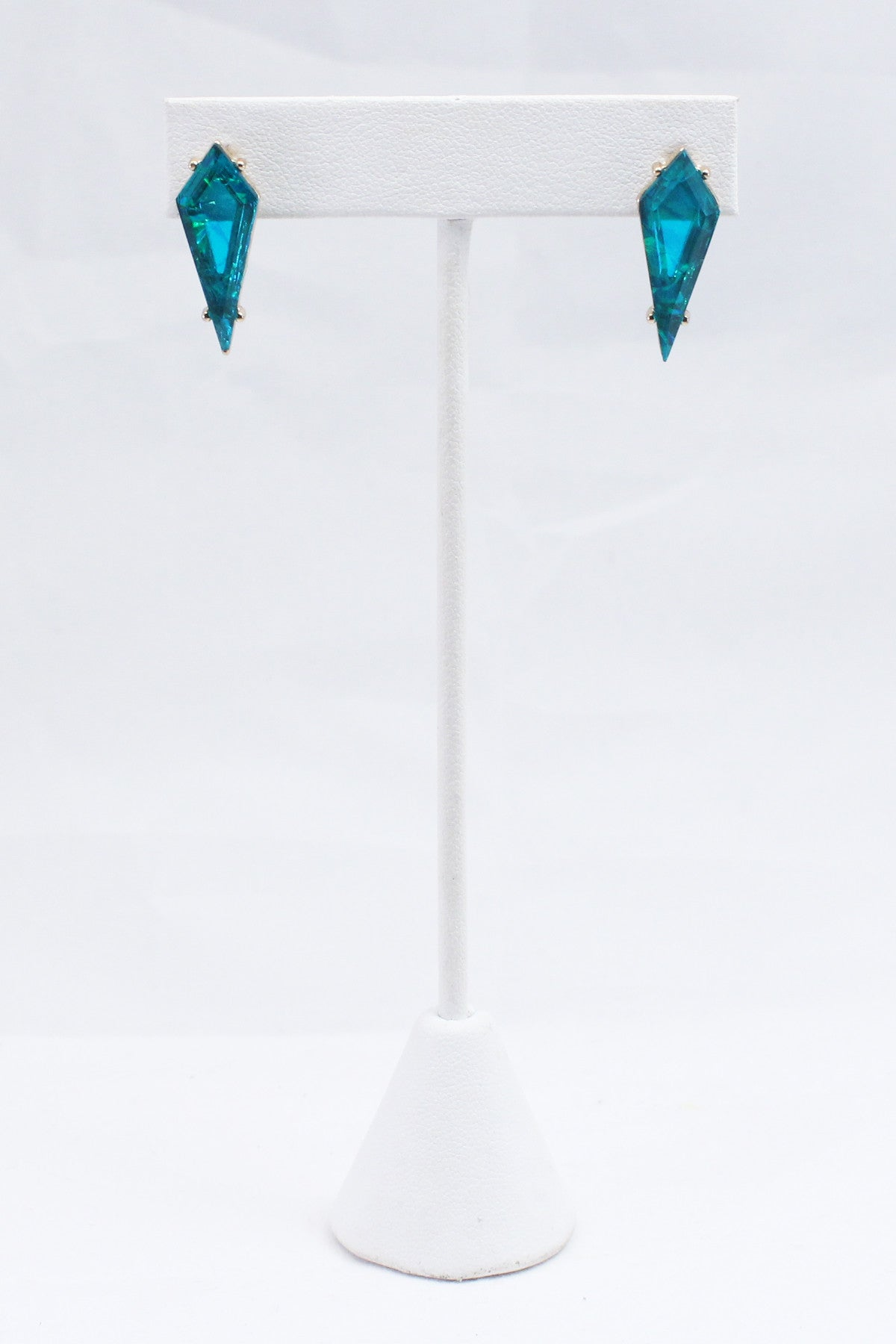 Zenith Earrings - Bright Turquoise
