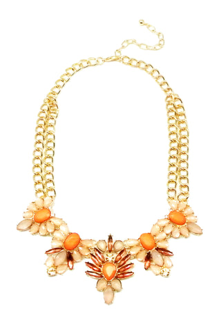 Sweet Tangerine Necklace Set
