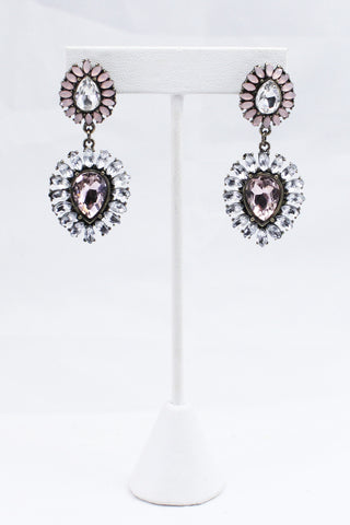 Petal Tear Drop Earrings