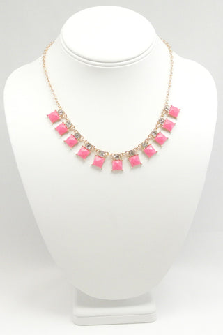 Pop of Pink Necklace