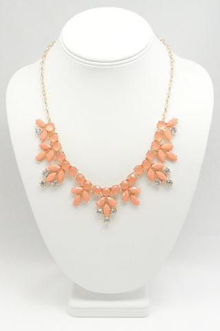Serena Rhinestone Accent Necklace