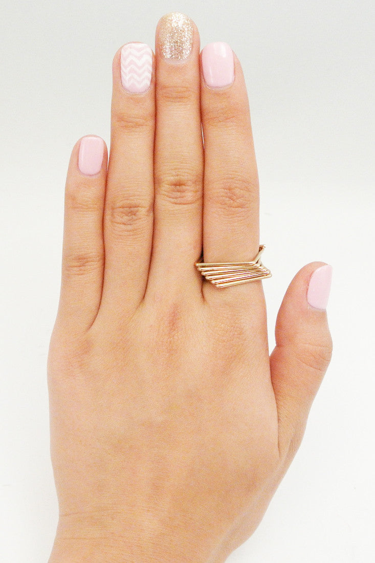 Slanted Six Square Ring