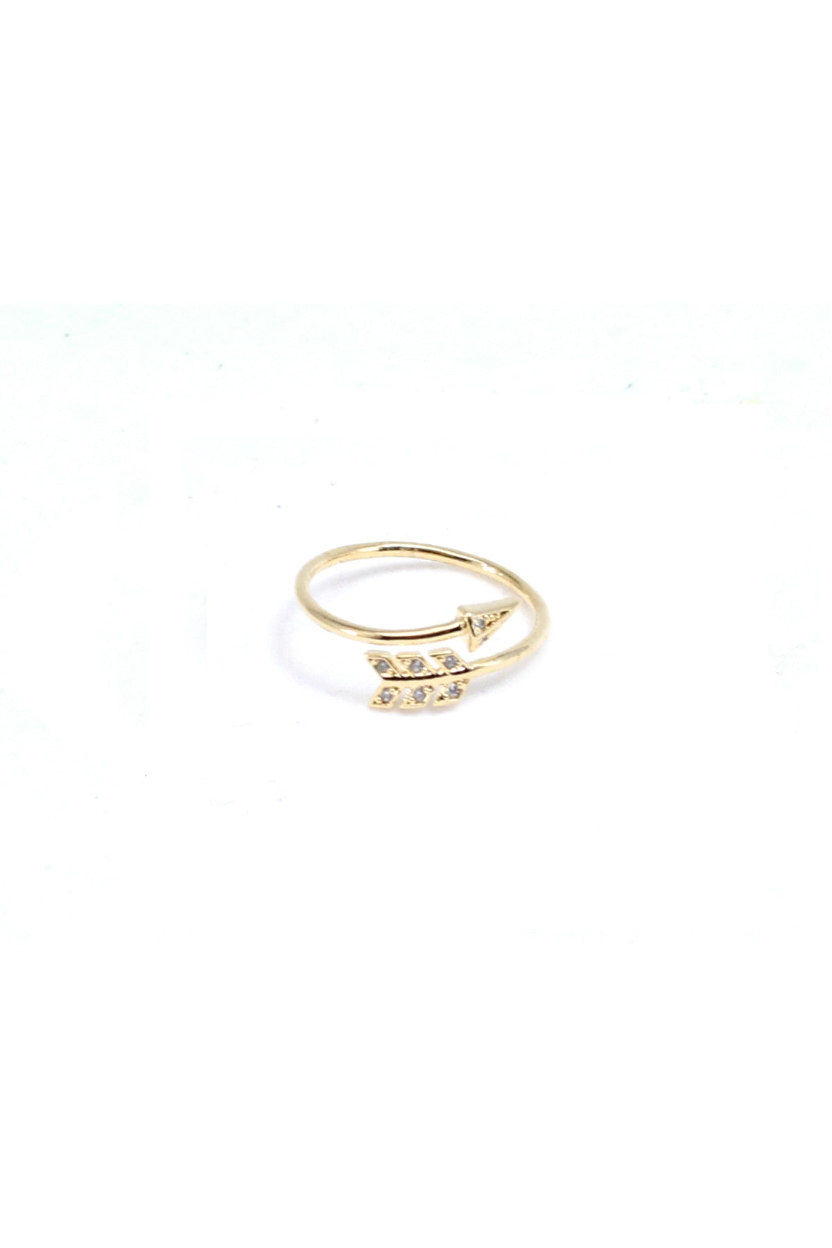 Charmed Arrow Cuff Ring