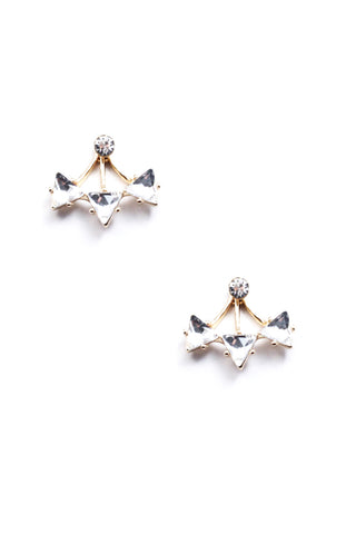 Triad Crystal Ear Jackets