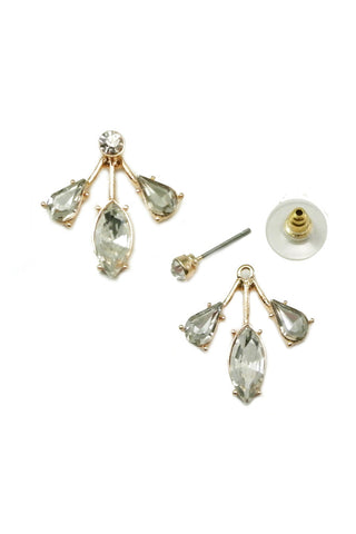 Edith Crystal Ear Jackets