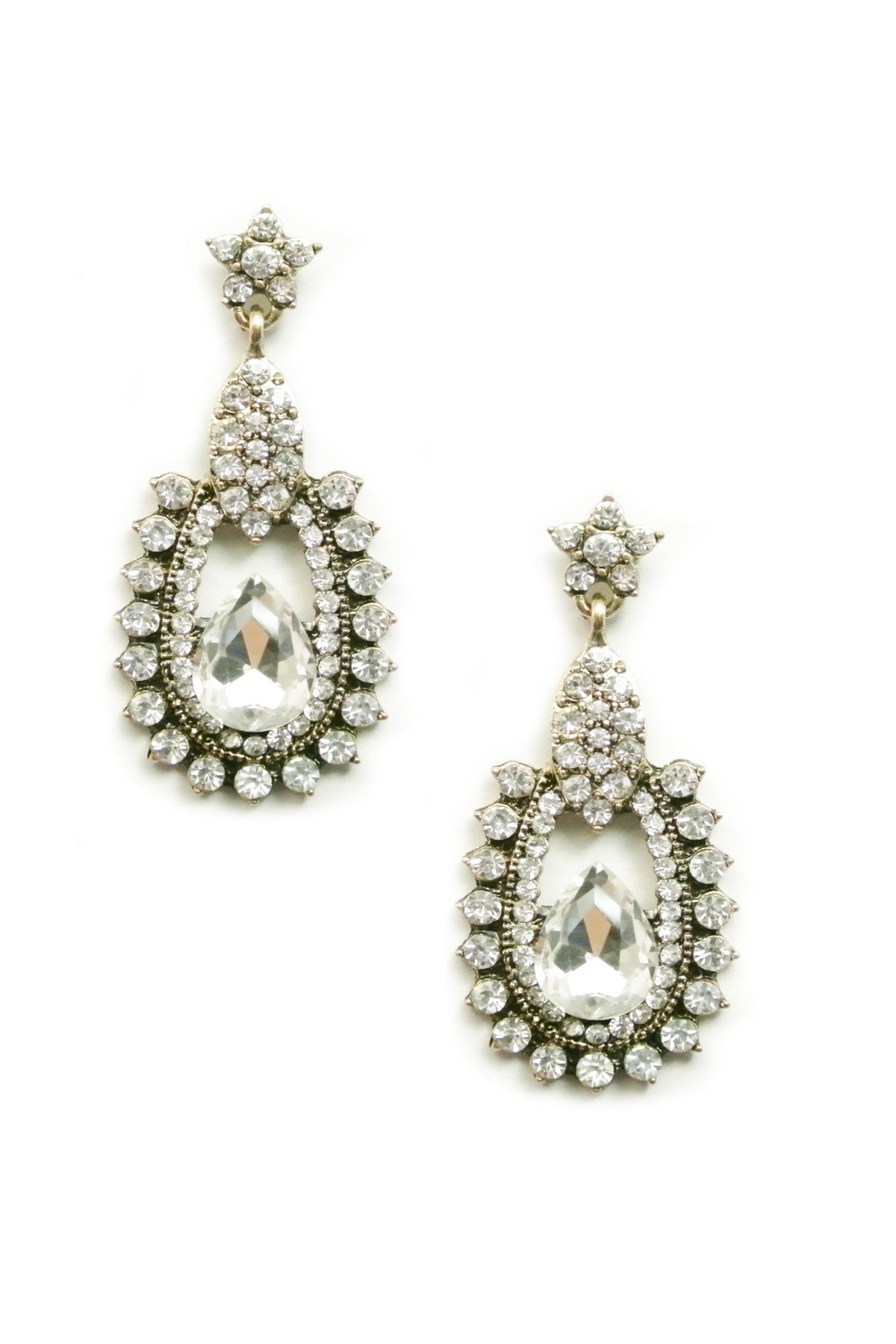 Romantic Vintage Crystal Drops