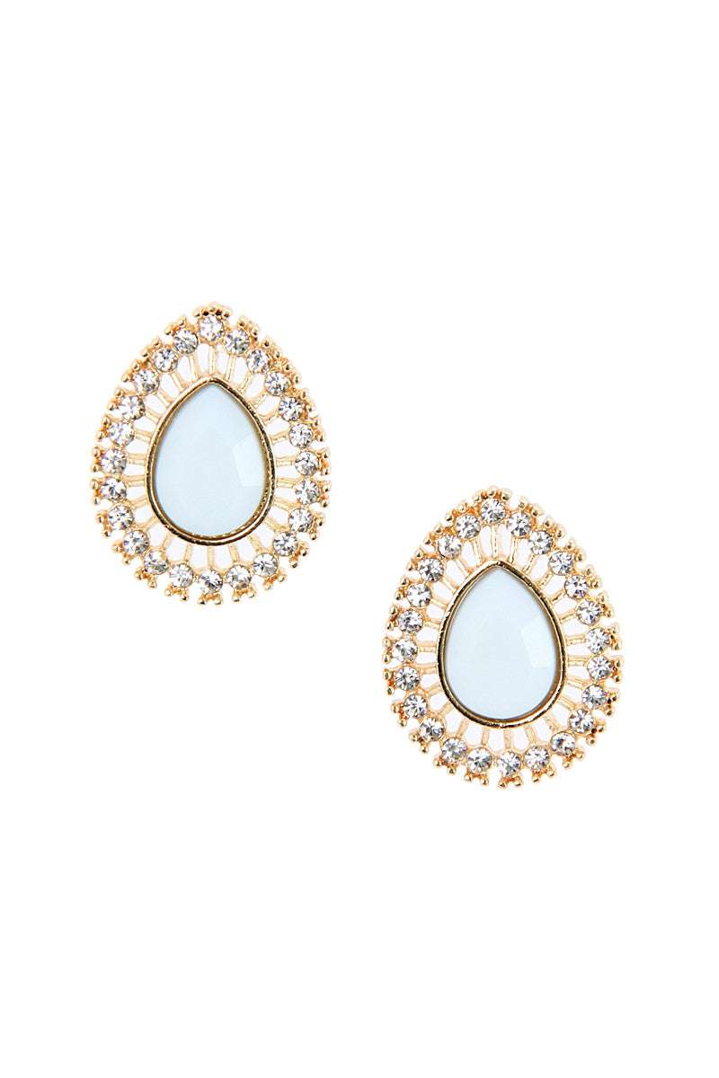 Baby Blue Sunrise Studs