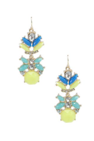 Wanderlust Jewel Drops - Yellow