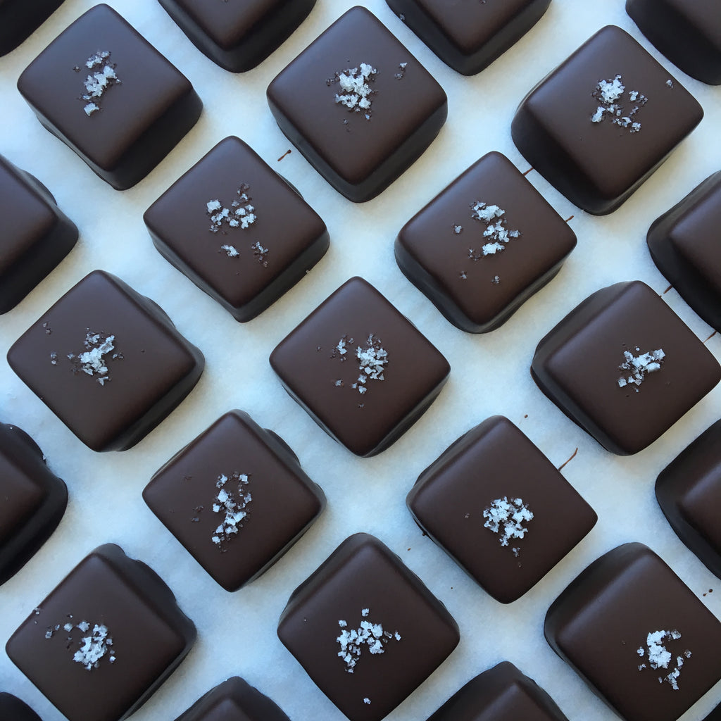 Lavender Salted Caramels - 8-piece box