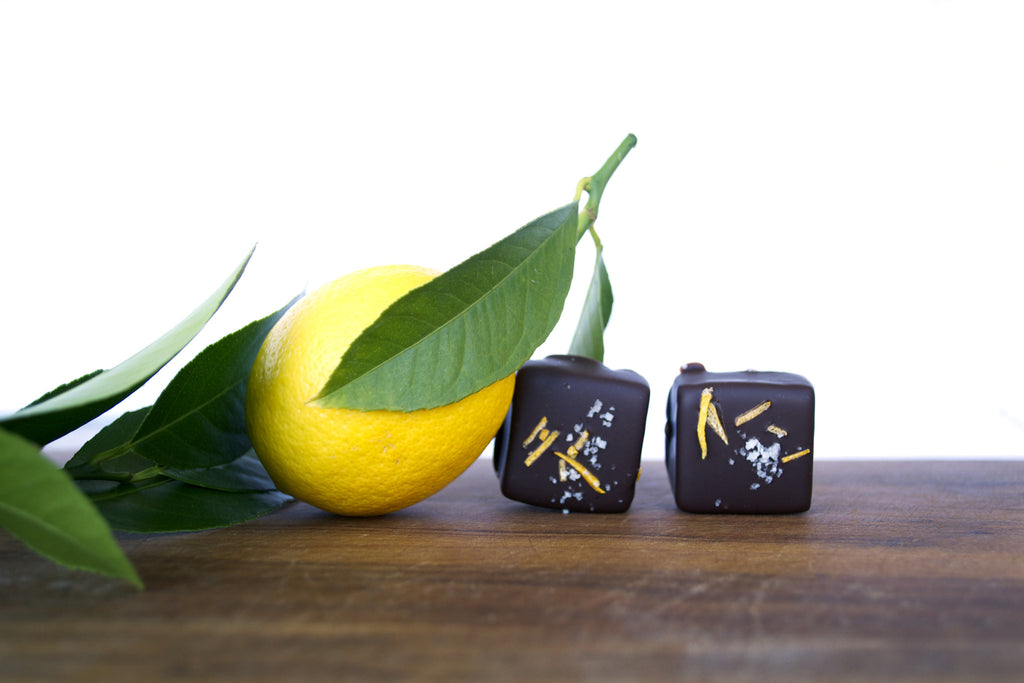 Meyer Lemon Salted Caramel