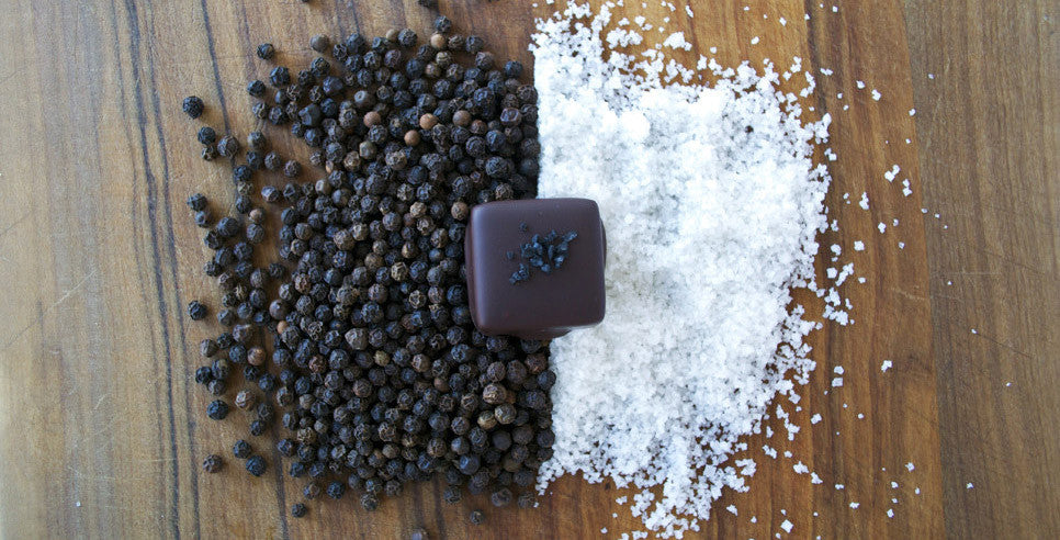 Salt and Pepper Caramels