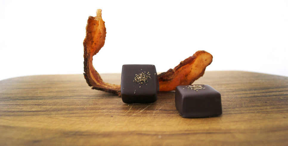 Bacon Salted Caramels
