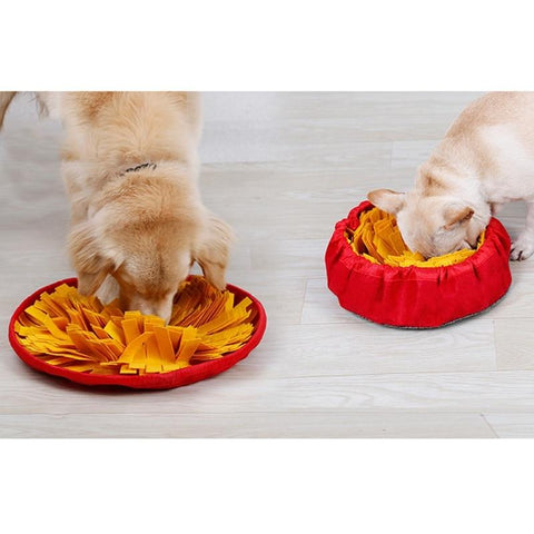 Pet Slow-Feeding Anti-Choking Food Bowl