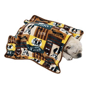 French Bulldog Winter Fleece Blanket