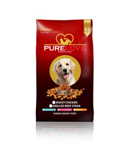PureLove Premium Roast Chicken 500G Human Grade Low in Gluten