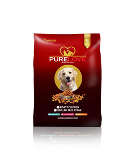 PureLove Premium Grilled Beef Steak 3 KG Human Grade Low in Gluten