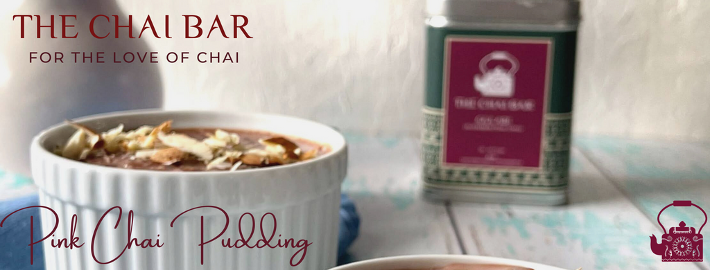 Pink Chai Pudding