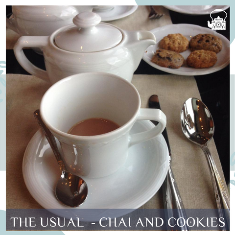 chai and cookies