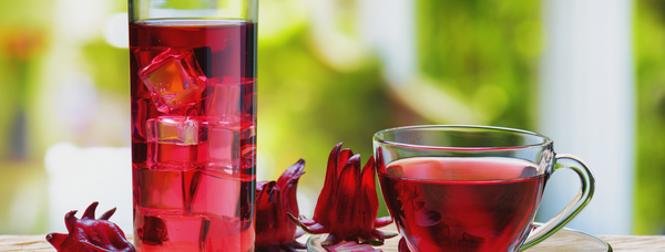 Hibiscus blue pea tea