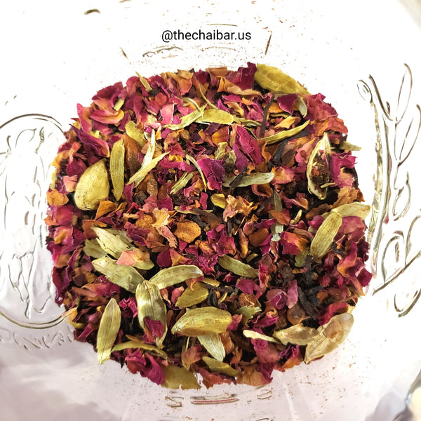 Astrakadir (Black tea, Rose & Cardamom blend)