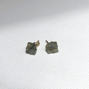 Rough-Cut Stone Studs