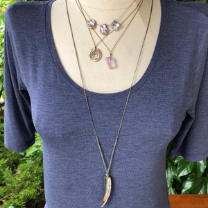 Pink Kunzite Necklace