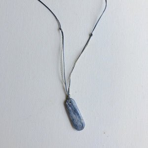 Long Kyanite Necklace