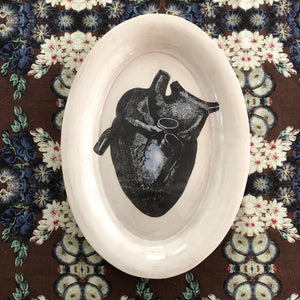 Anatomical Heart Platter